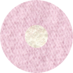 pale pink & white
